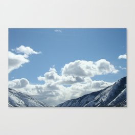 On the way home Canvas Print