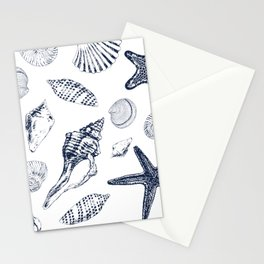 Underwater creatures Stationery Cards