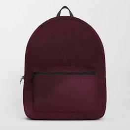 Abstract modern dark burgundy watercolor Backpack