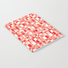 Mod Gingham - Red Notebook