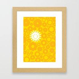 Sun Energy Framed Art Print