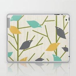Mid Century Modern Birdsong Laptop & iPad Skin