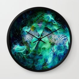 Love Beyond The Moon And Stars - Bagaceous Wall Clock