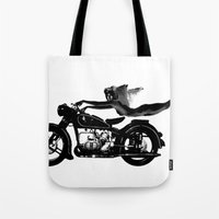 nirvana Tote Bags featuring Nirvana by William Michael