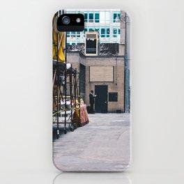 Maestro Alleyway iPhone Case