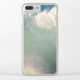 Gamma Ray Clear iPhone Case