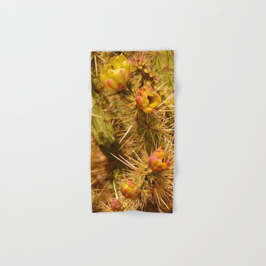 Cacti in Bloom Hand & Bath Towel