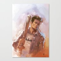 stiles Canvas Prints featuring [ STILES STILINSKI ] by AkiMao