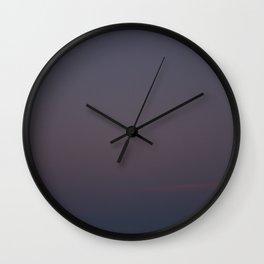 Gulf Moonrise Wall Clock