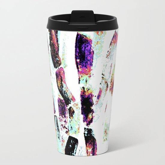Rainbow Candy Sugar Cane, Spring, First World Problems Metal Travel Mug