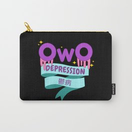 Yami Kawaii UwU OwO Whats This Pastel Goth Gift Carry-All Pouch