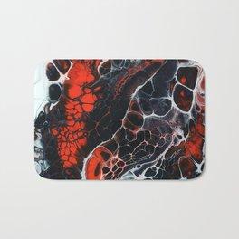 Red Cells Bath Mat