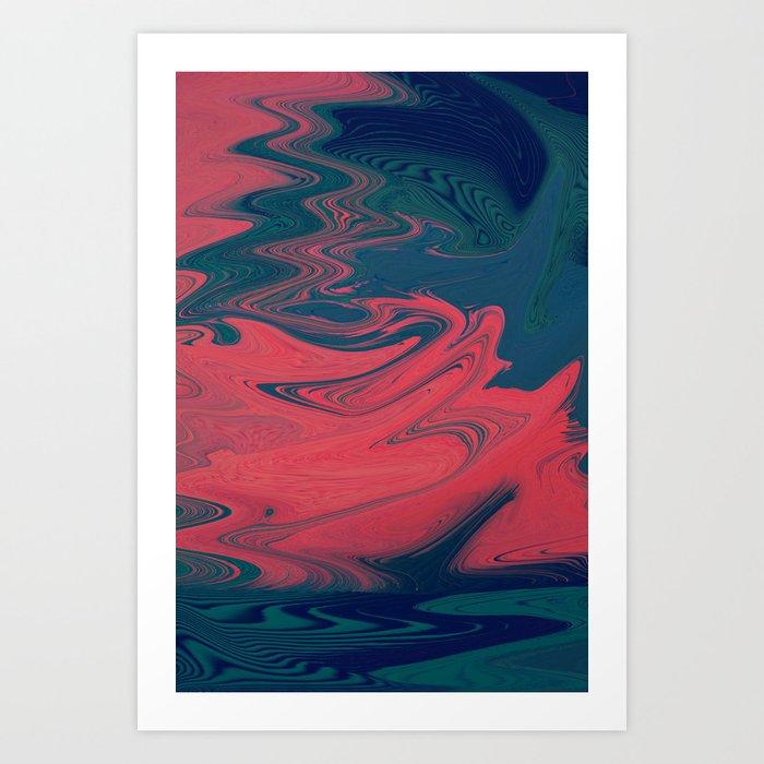 Taffy Art Print