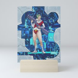 80s Video Game Heroine Mini Art Print