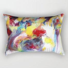The Horn of Plenty Rectangular Pillow