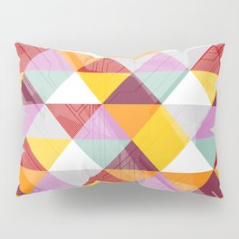 Triagles warm Pillow Sham