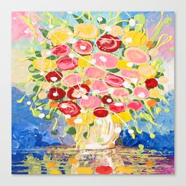 Blooming Burst Canvas Print