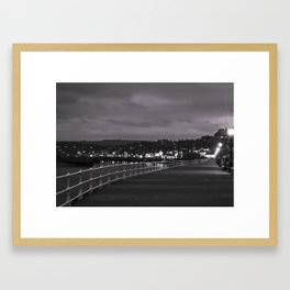 Whitby Bay Framed Art Print