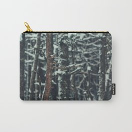 Snow Forest Carry-All Pouch