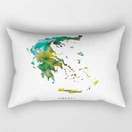Greece Rectangular Pillow