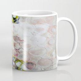 Muse Morphing - Mixed Media Beeswax Encaustic Modern Fine Art, 2015 Coffee Mug