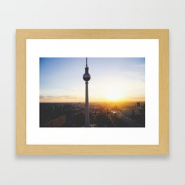 Berlin, my love Framed Art Print