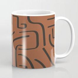 Calligraffiti Slim | Rust + Iron Coffee Mug