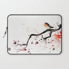 """The tiny wings """"The robin"""" Laptop Sleeve"""