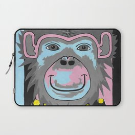 Chimp Off The Old Block Laptop Sleeve