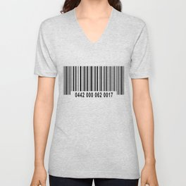 Barcode #1 Unisex V-Neck