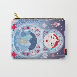 Our Lady of Winter Carry-All Pouch
