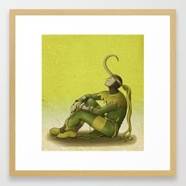 Loki: The Lonesome Framed Art Print