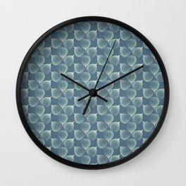 The Silver Breath of Winter Wall Clock