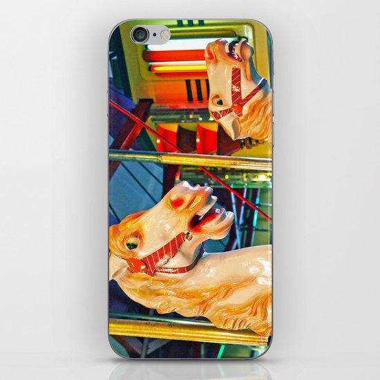 Carousal racers iPhone & iPod Skin