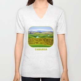 The Lie of the Land: Tararua Unisex V-Neck