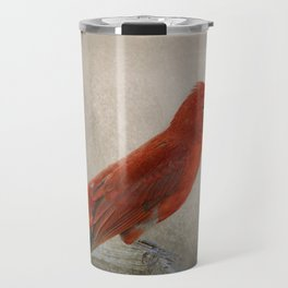 Song of the Summer Tanager 2 - Birds Travel Mug