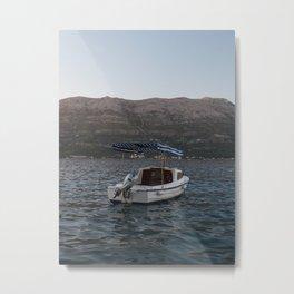 Croatia by Sea Metal Print