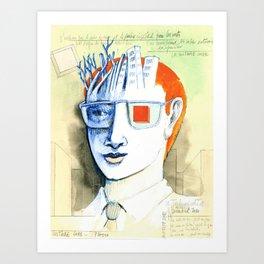 Cube culture Art Print