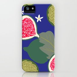Fig & Lime iPhone Case