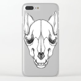 Wolf of the Dead Clear iPhone Case