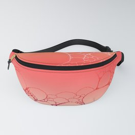 Pink Sunset Daisies Fanny Pack
