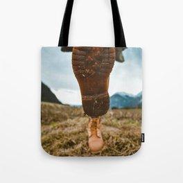 Let's Wander (Color) Tote Bag