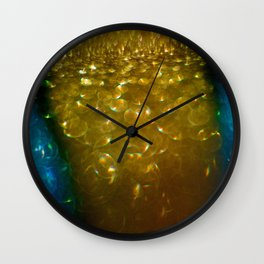 Light Drips II Wall Clock
