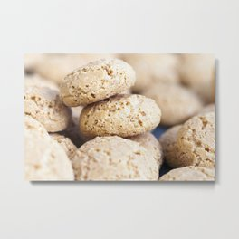 small gingerbread cookie Metal Print