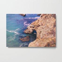Big Sur California Cliffs Metal Print