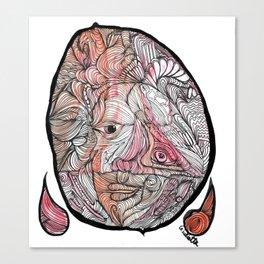El maestro de la yerba Canvas Print