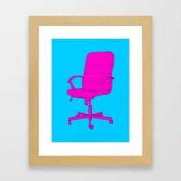 Desk Chair Framed Art Print