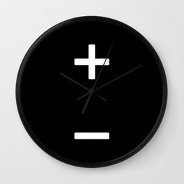 Charge Wall Clock
