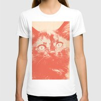 kitten T-shirts featuring KITTEN by Allyson Johnson