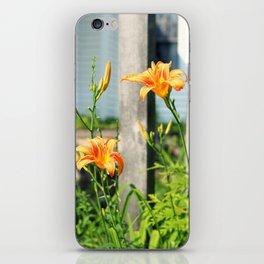 Growing Lilys iPhone Skin